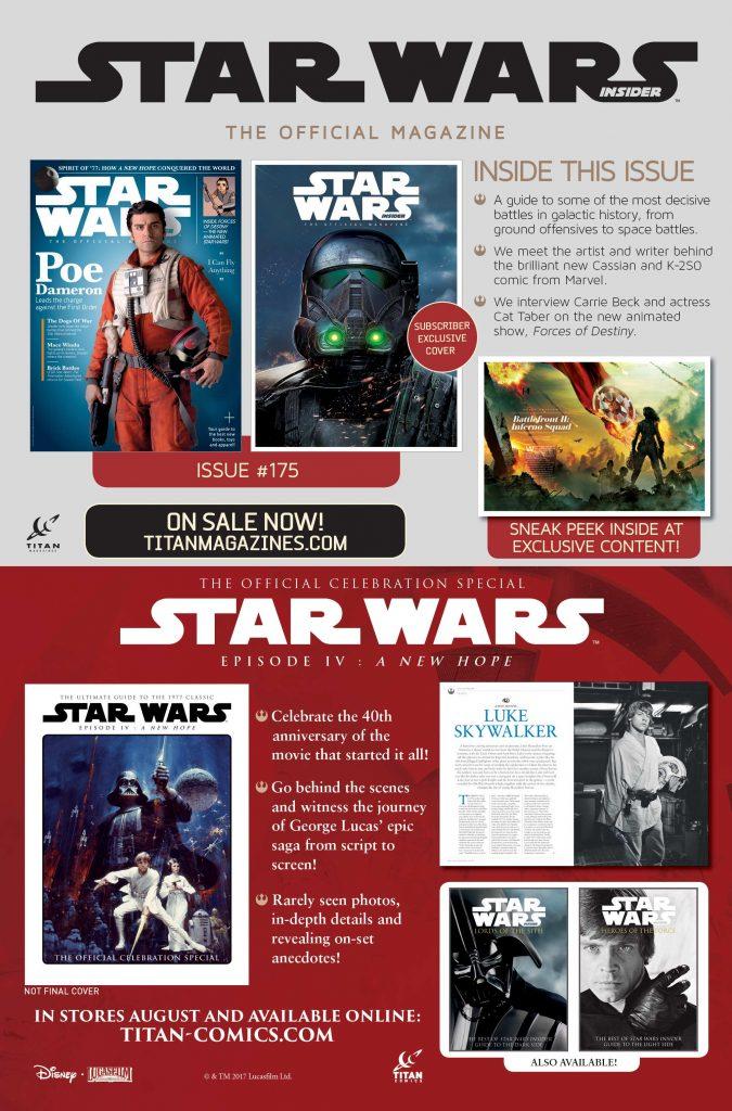 Star Wars Insider Dual