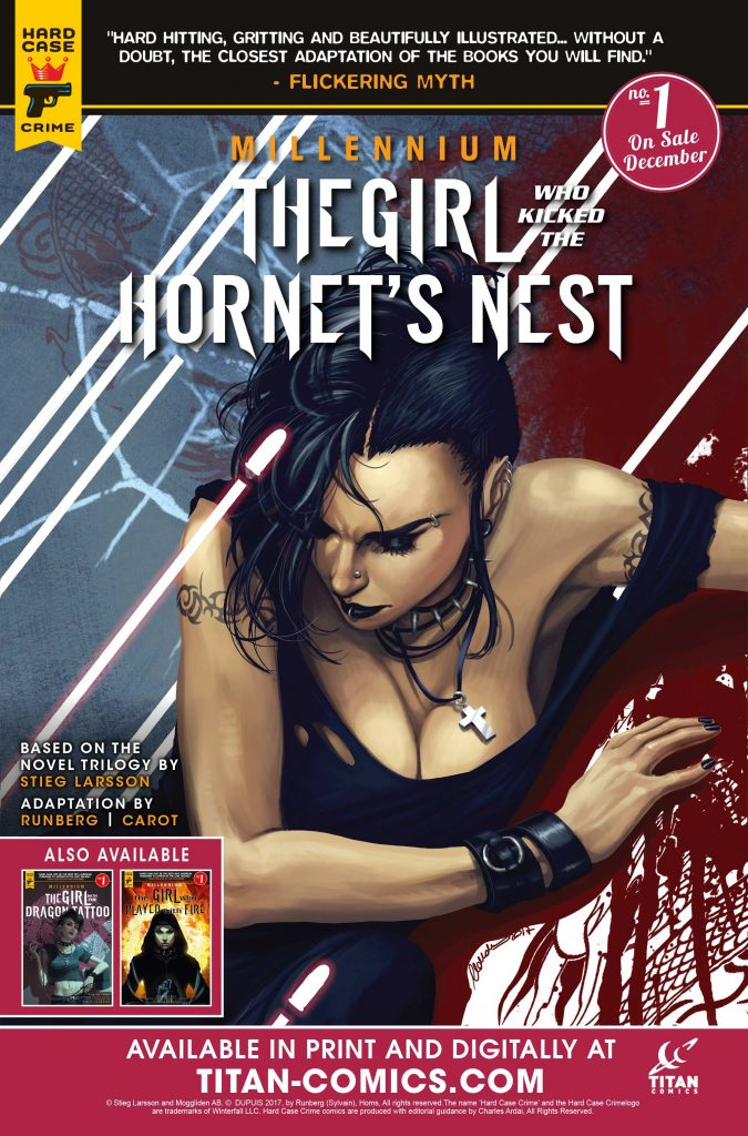 The Girl Who Kicked the Hornet's Nest Issue 1