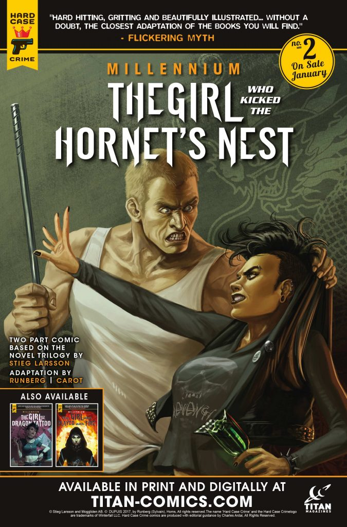 The Girl Who Kicked the Hornet's Nest Issue 2