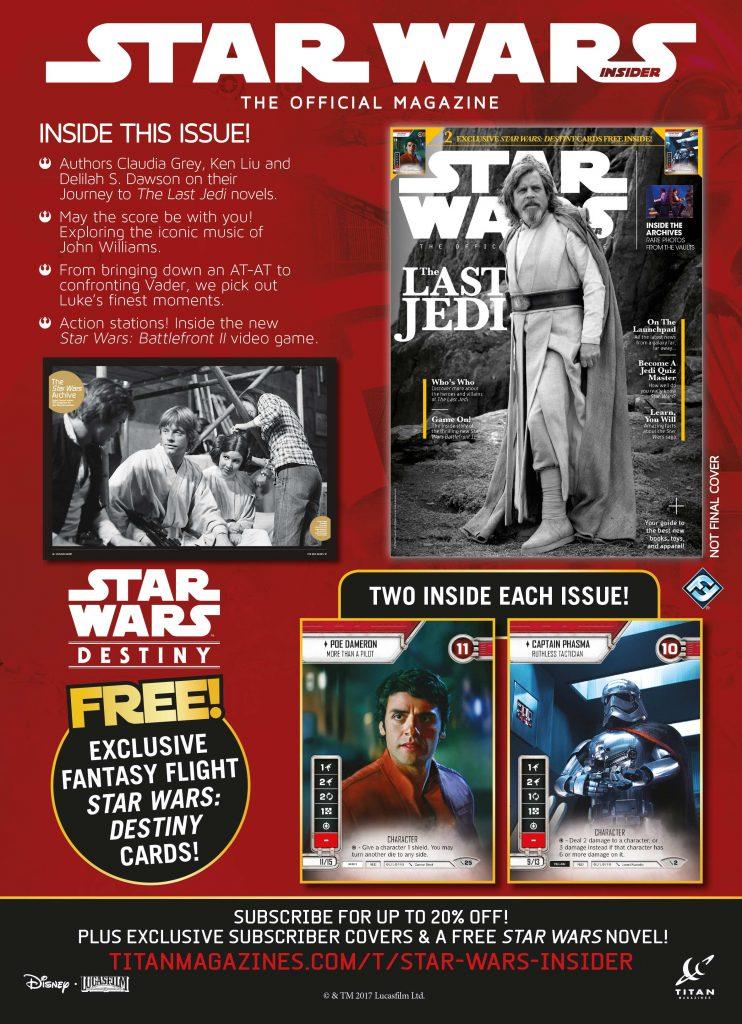 Star Wars Insider 177 Fantasy Flight