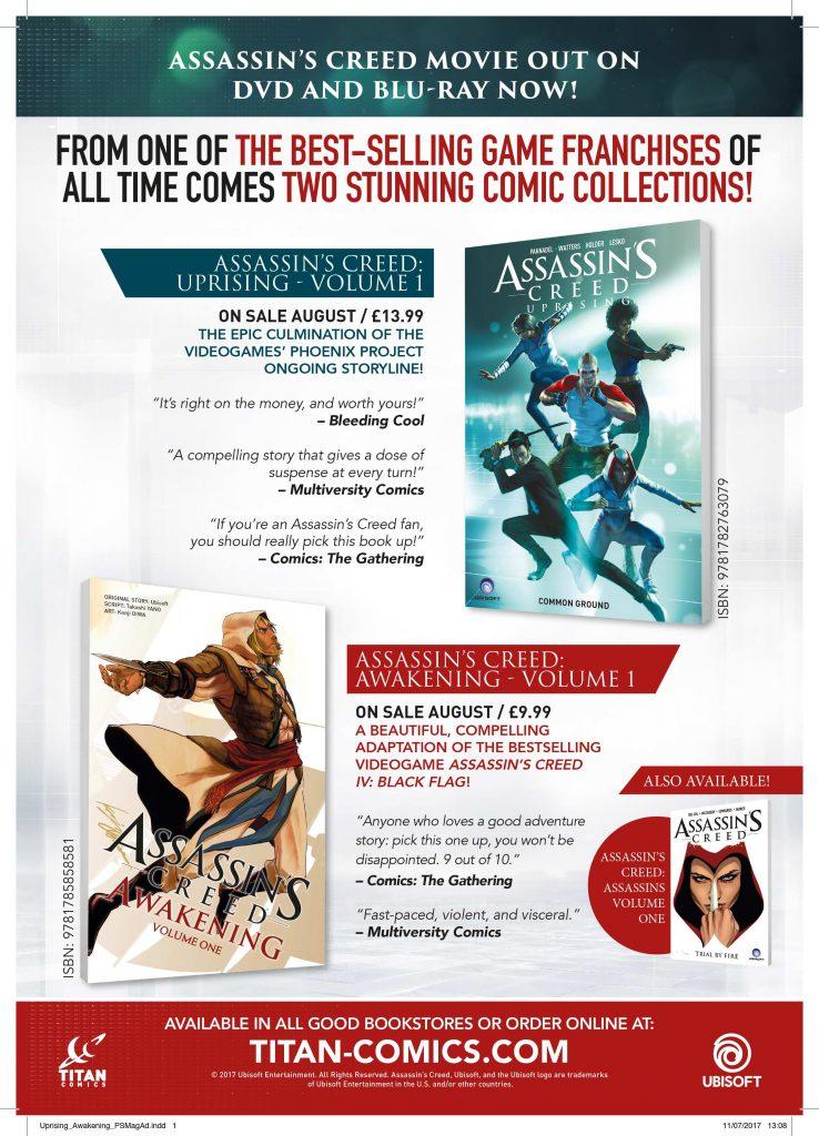 Assassins Creed Graphic Novels