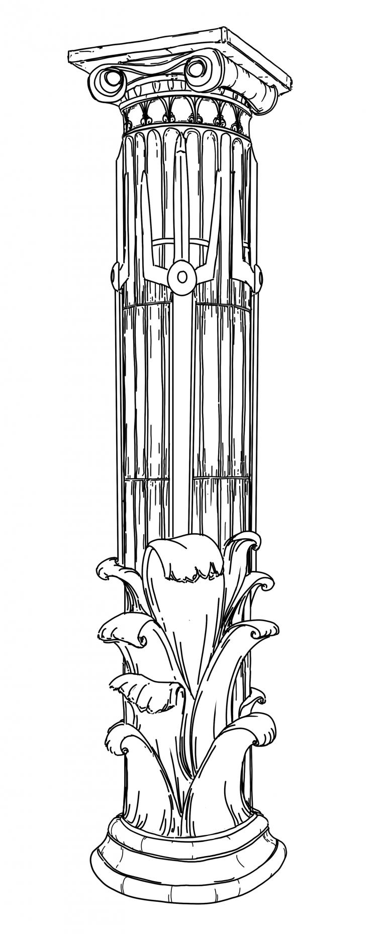 The Column of Poseidon